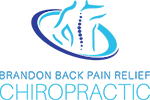 brandon back pain relief chiropractic logo